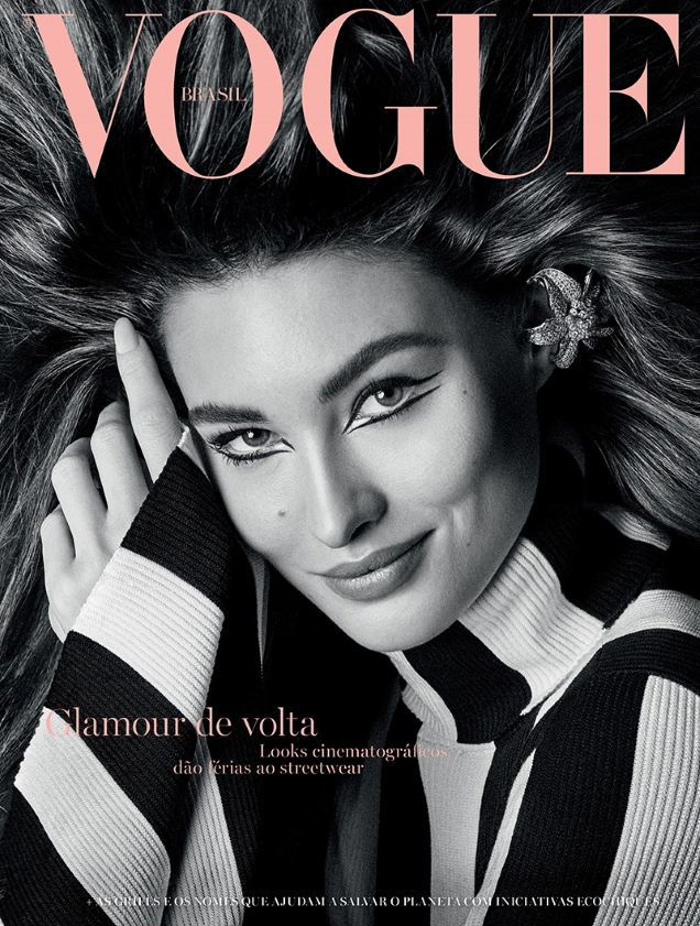 Vogue Brazil June 2019 : Grace Elizabeth by Giampaolo Sgura