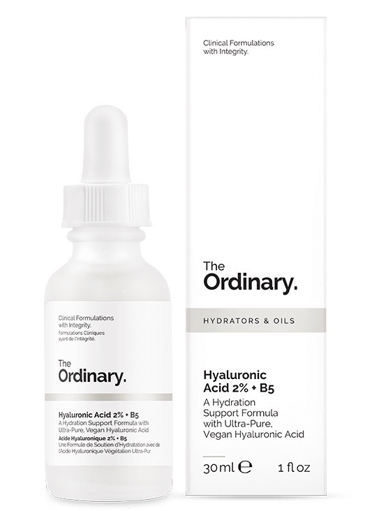 The Ordinary hyaluronic acid formula.
