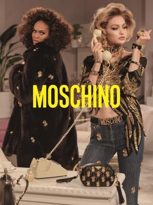 Moschino F/W 2019.20 : Gigi Hadid, Joan Smalls & Irina Shayk by Steven Meisel