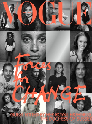 UK Vogue September 2019 : The 'Forces for Change' by Peter Lindbergh