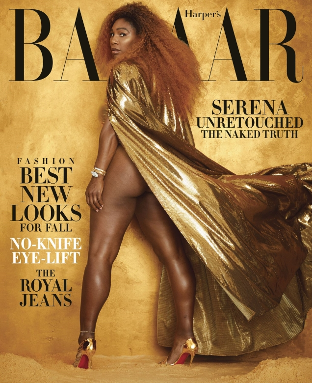 US Harper's Bazaar August 2019 : Serena Williams by Alexi Lubomirski