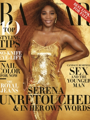 US Harper's Bazaar August 2019 : Serena Williams by Alexi Lubomirski