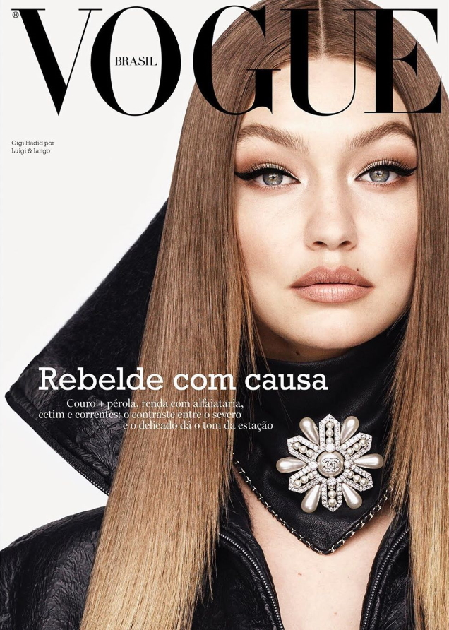 Gigi Hadid Delivers Two Dynamic Covers for Vogue Brazil's September Difficulty