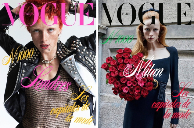 Vogue Paris September 2019 by Mikael Jansson, Alasdair McLellan, Juergen Teller & Inez & Vinoodh