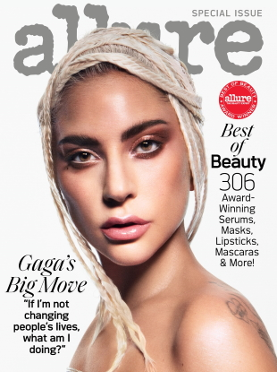 Allure October 2019 : Lady Gaga by Daniel Jackson