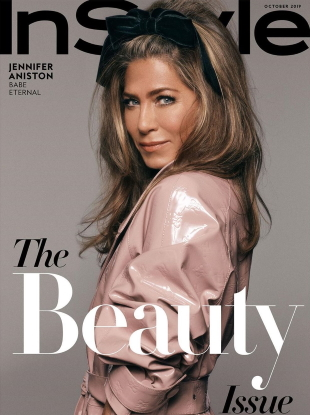 InStyle October 2019 : Jennifer Aniston by Michael Thompson