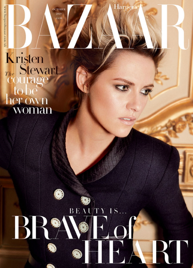 UK Harper's Bazaar October 2019 : Kristen Stewart by Alexi Lubomirski
