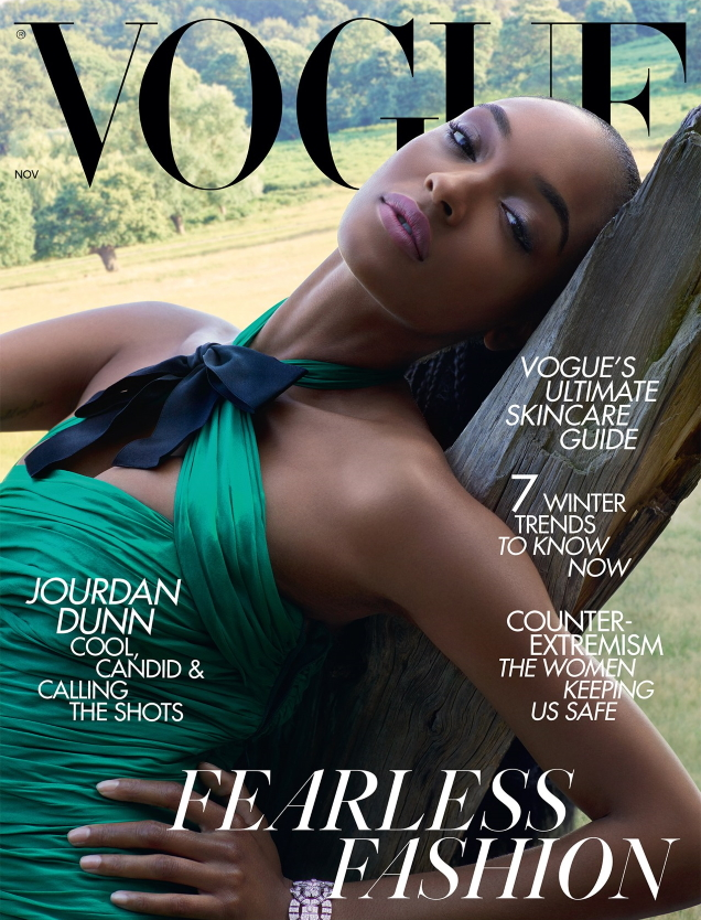 UK Vogue November 2019 : Jourdan Dunn by Nick Knight