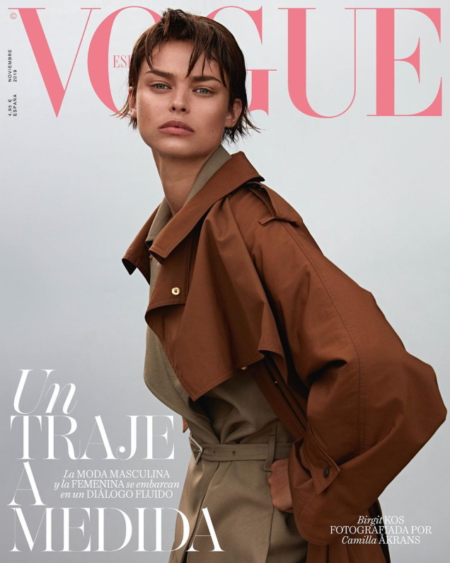 Vogue España November 2019 : Birgit Kos by Camilla Akrans