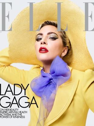 US Elle December 2019 : Lady Gaga by Sølve Sundsbø