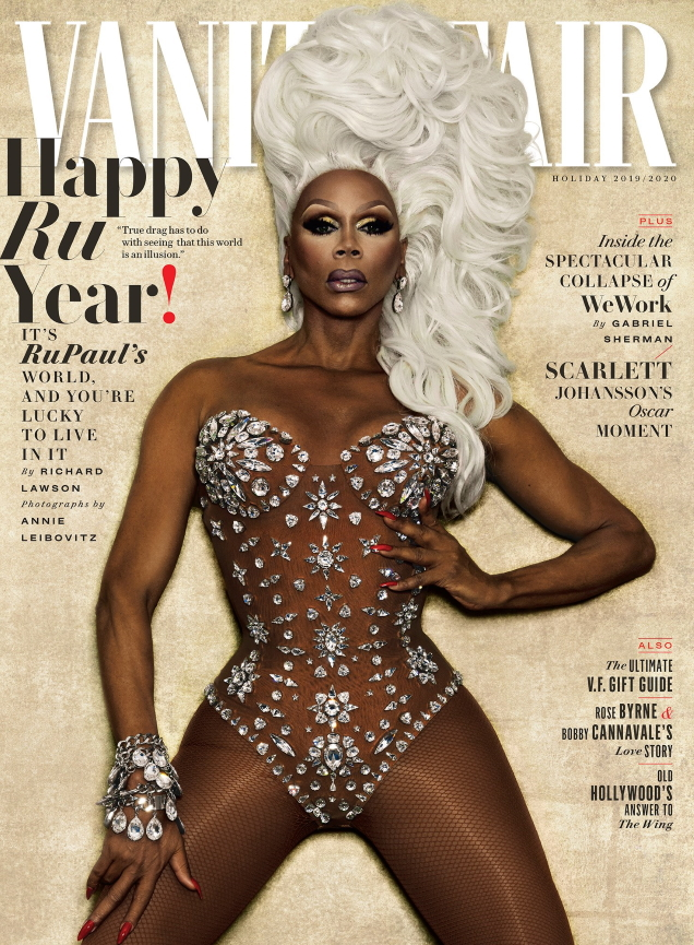 Vanity Fair Holiday 2019 : RuPaul by Annie Leibovitz