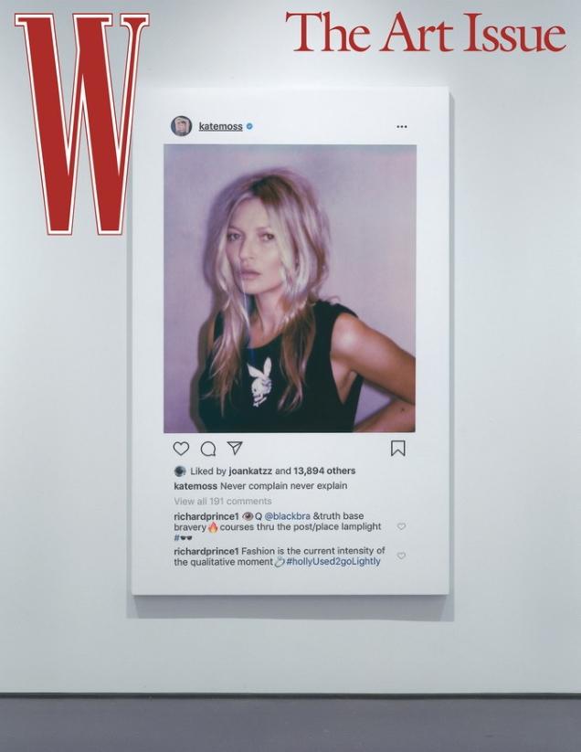 W Magazine Volume #7 2019 : Kate Moss by Nikolai von Bismarck