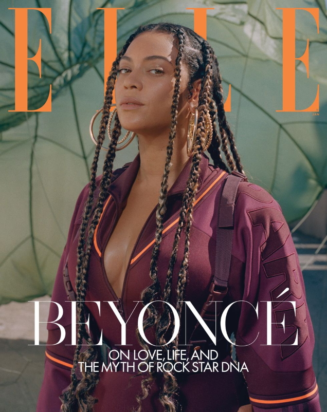 US Elle January 2020 : Beyoncé by Melina Matsoukas
