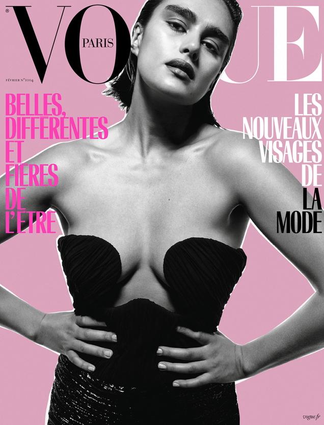 Vogue Paris February 2020 : Jill Kortleve by Inez van Lamsweerde & Vinoodh Matadin