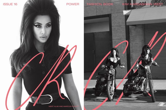 CR Fashion Book #16 S/S 2020 : Kim Kardashian West, Cher & Naomi Campbell by Mert & Marcus