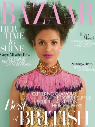 UK Harper's Bazaar April 2020 : Gugu Mbatha-Raw by Richard Phibbs