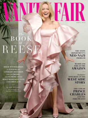 Vanity Fair April 2020 : Reese Witherspoon by Jackie Nickerson