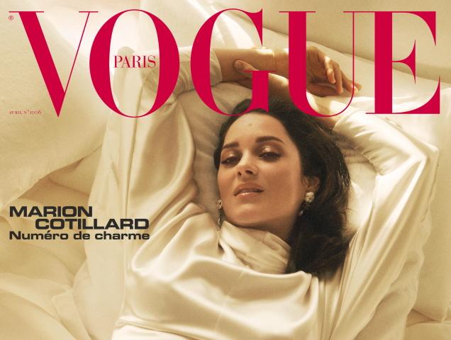Marion Cotillard Vogue Paris April 2020 Thefashionspot