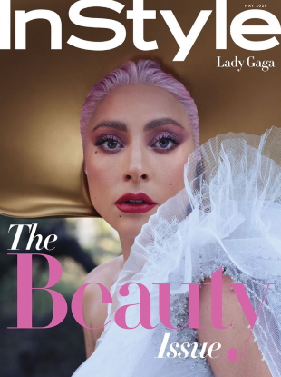 US InStyle May 2020 : Lady Gaga by Nathaniel Goldberg