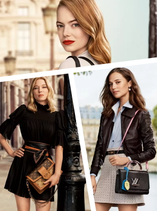Louis Vuitton 'New Classics' Handbags 2020 by Craig McDean