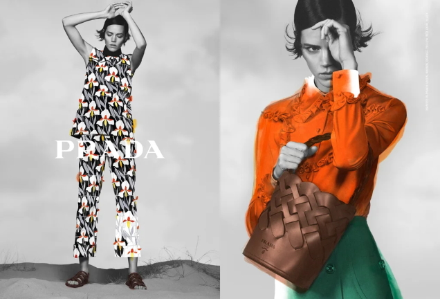 Prada Pre-Fall 2020 : Freja Beha Erichsen by David Sims