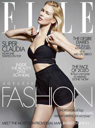 UK Elle May 2020 : Claudia Schiffer by Sebastian Kim