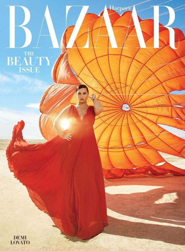 US Harper's Bazaar May 2020 : Demi Lovato by Alexi Lubomirski