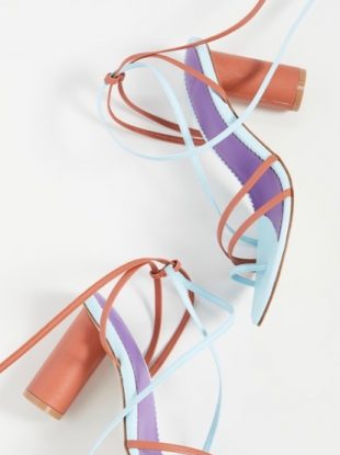 wrap sandals