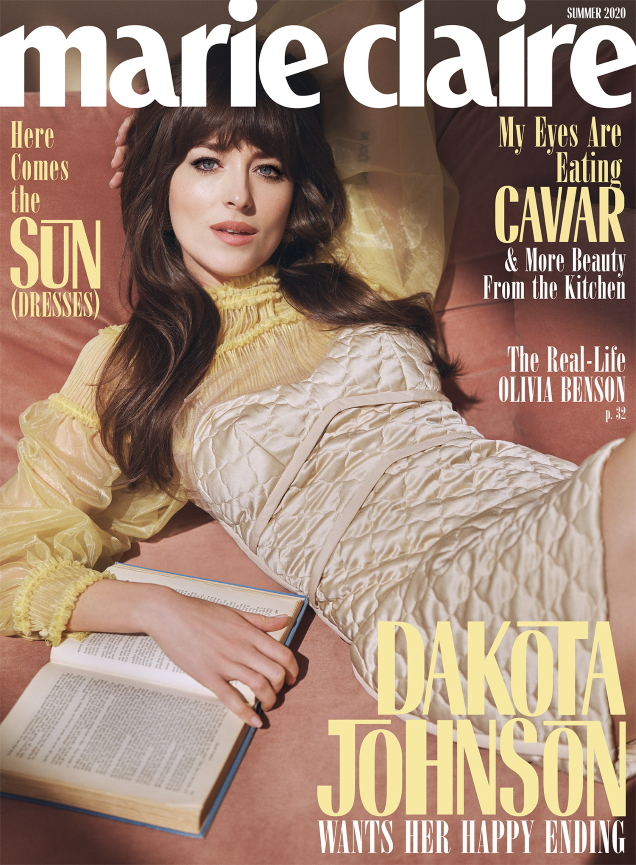 US Marie Claire Summer 2020 : Dakota Johnson by Steven Pan