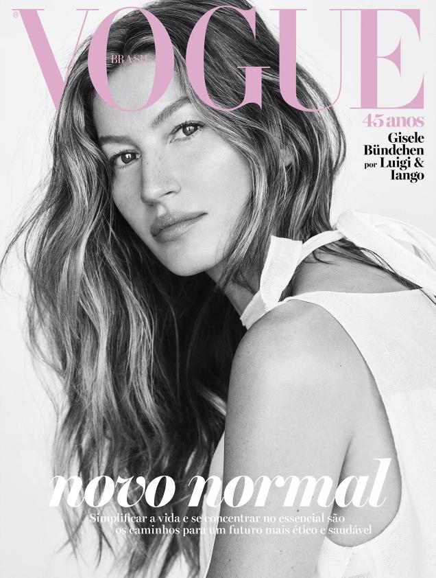 Vogue Brazil May 2020 : Gisele Bündchen by Luigi & Iango