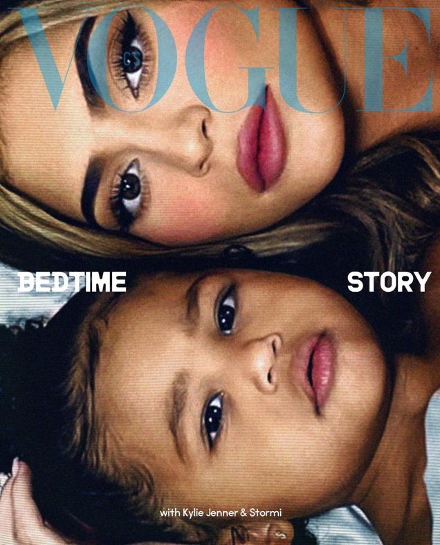 Vogue Czechoslovakia July 2020 : Eva Herzigova, Kylie Jenner & Stormi