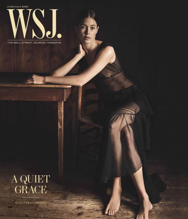 WSJ Magazine June/July 2020 : Doutzen Kroes by Annemarieke Van Drimmelen