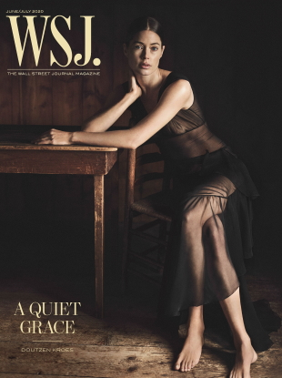 WSJ Magazine June/July 2020 : Doutzen Kroes by Annemarieke Van Drimmelen