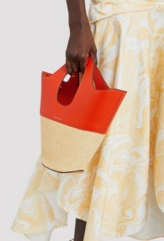 13 Straw Bags You Can Still Carry Come Fall