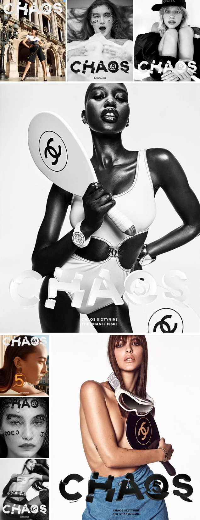 Chaos SixtyNine #5 2020 : 'The Chanel Issue'