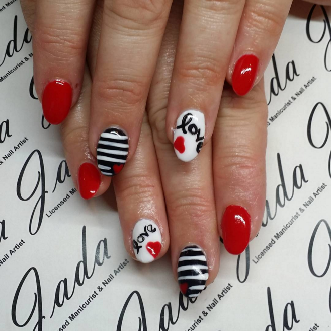 Valentine S Day Nail Art Ideas To Fall In Love With Thefashionspot
