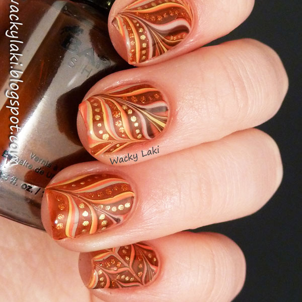Fall Is In The Air Nails - 47 Fall Nail Art Ideas We Can't Wait To Try - TheFashionSpot