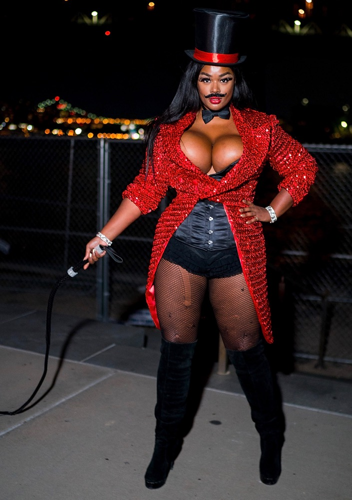 Precious Lee at the 2018 V Magazine Halloween Party