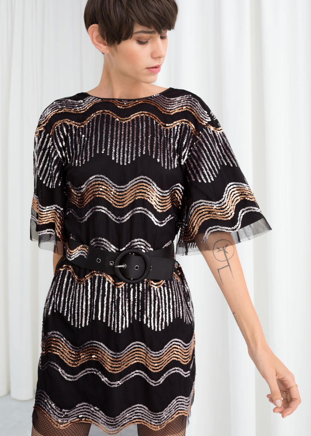Black Midi Dress Finds in 2018 Pretty Snazzy t Dresses 70c071d17