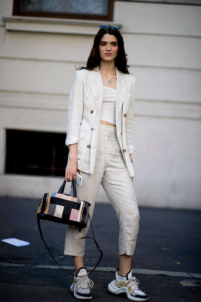 b9d43d2b59c How to Wear Pantsuits in 2018