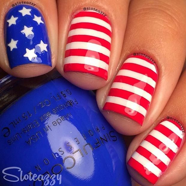 - 4th Of July Nail Art Ideas - TheFashionSpot