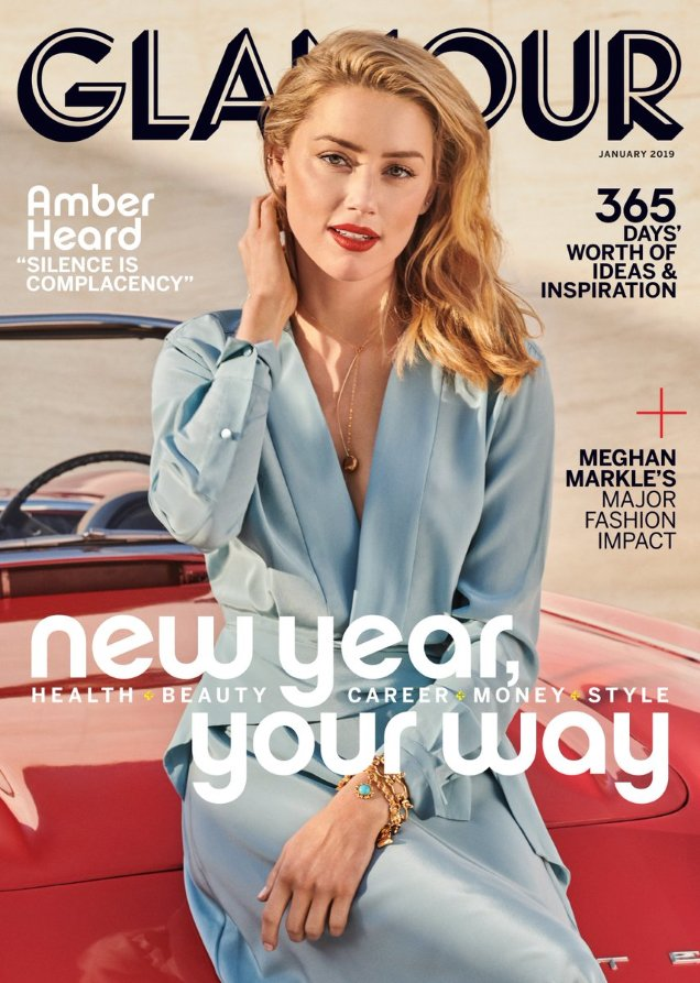 Glamour  All the January 2019 Magazine Covers We Loved and Hated usglamour jan19 amber article
