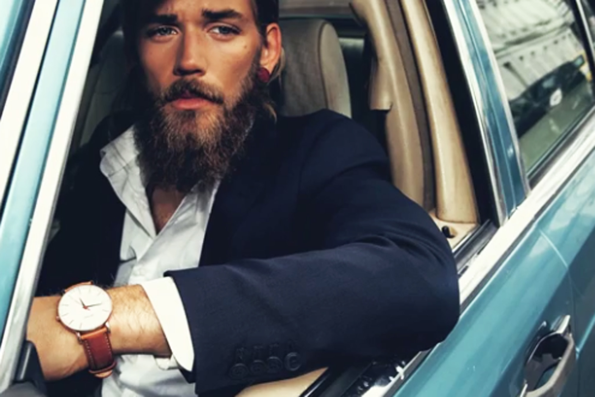 Models male with beards