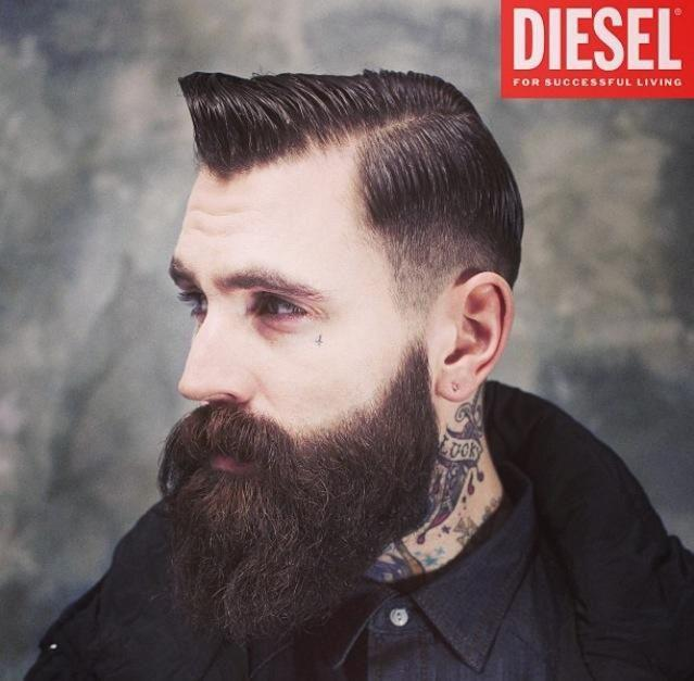 30 Male Models With Beards Thefashionspot