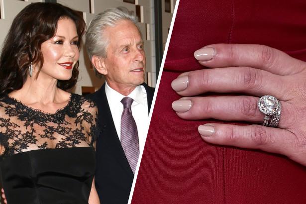 Catherine Zeta Jones Wedding Ring Image Of Enta