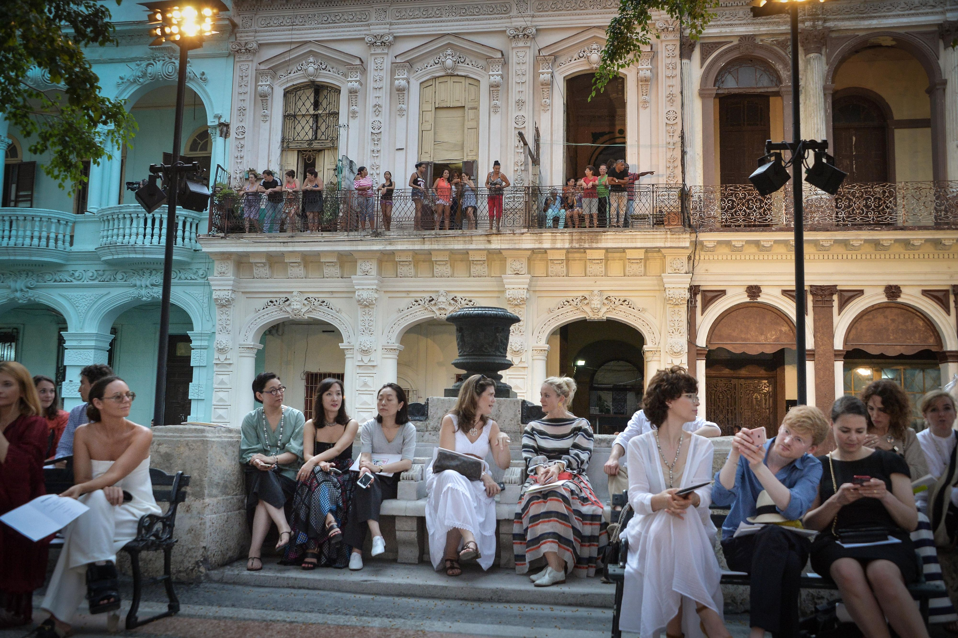 8dcb38fba449 Chanel s Cruise to Cuba Resort 2017 Show Was the Most FOMO-Inducing Yet -  theFashionSpot