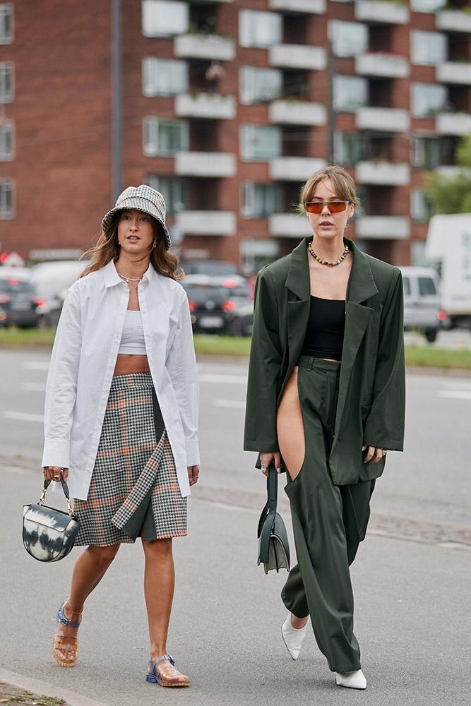 Street Fashion 2020.Street Style Copenhagen Fashion Week Spring 2020