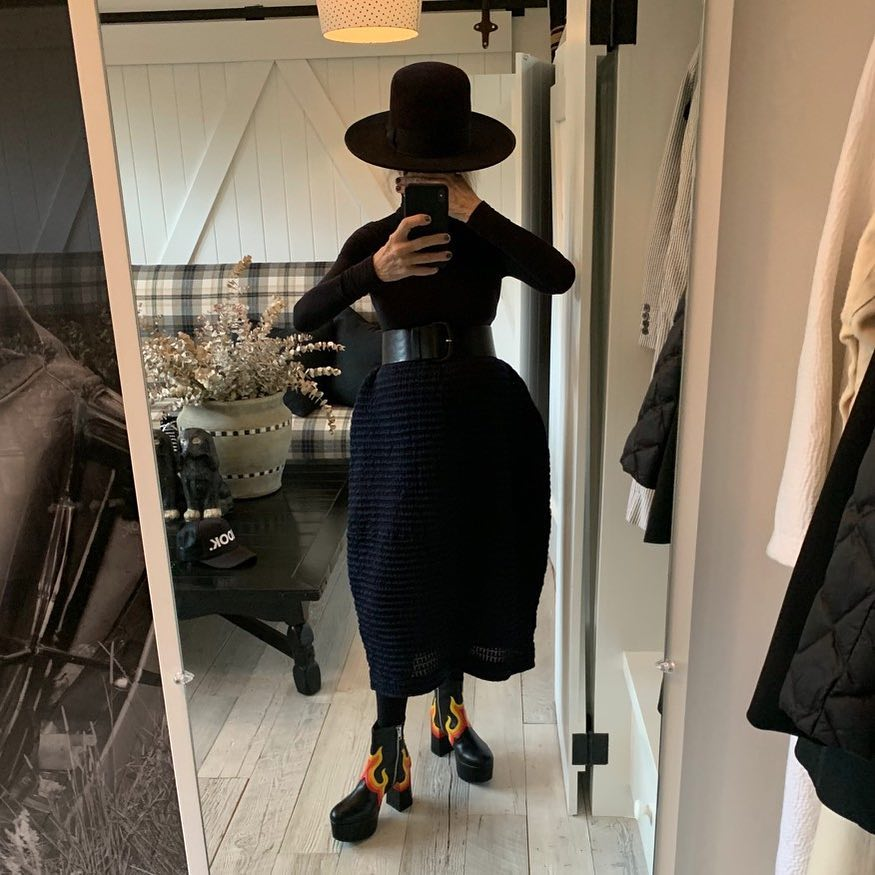 Diane Keaton Is Our Favorite New Instagram Influencer