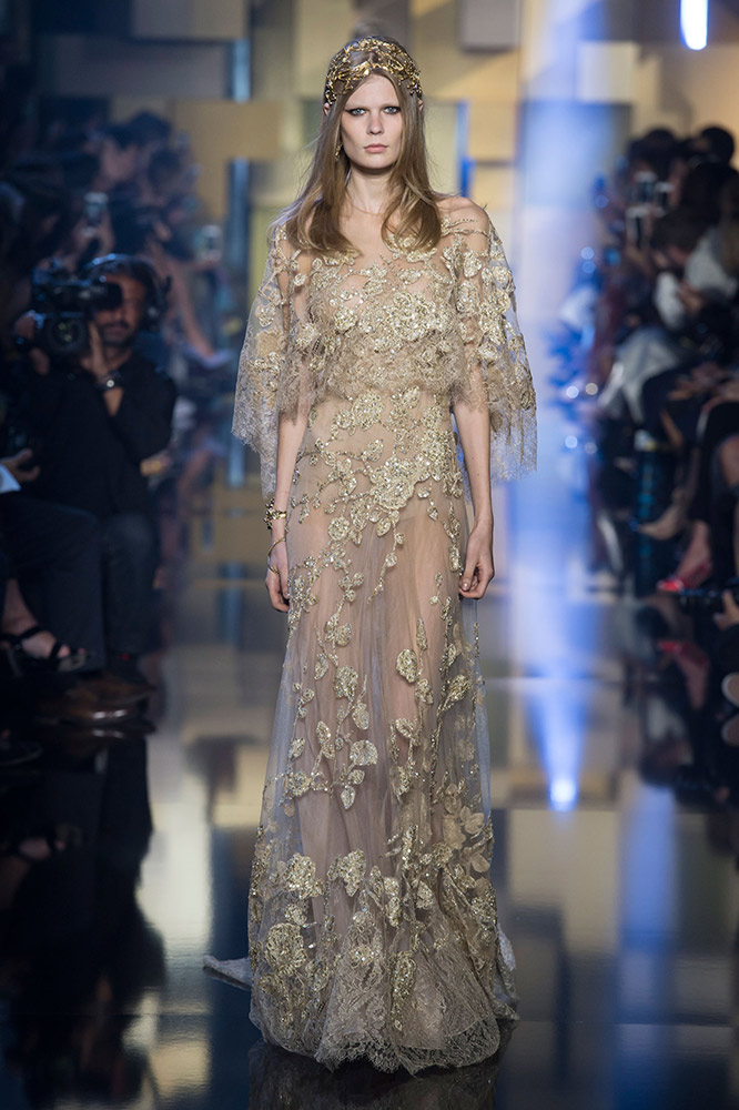 Watch - Saab elie haute couture fall runway video