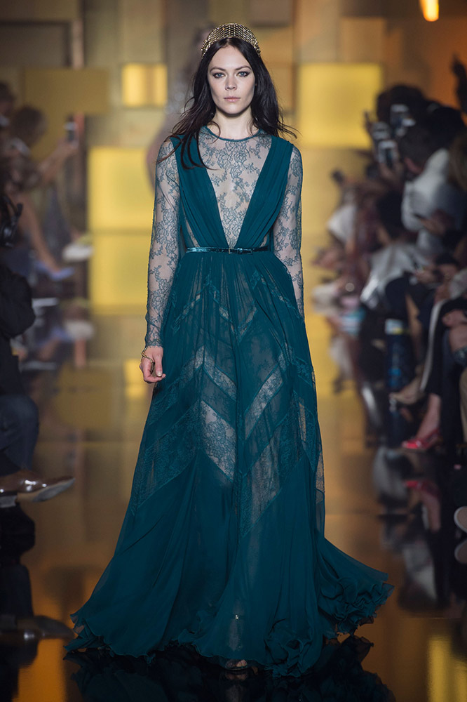 Elie Saab Haute Couture Fall 2015 Runway Thefashionspot